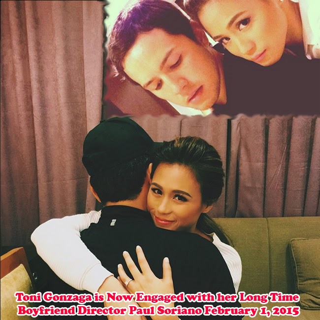 Toni Gonzaga is Now Engaged with her Long Time Boyfriend Director Paul Soriano February 1, 2015