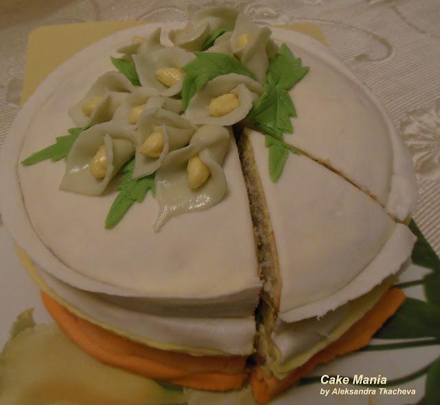 трехслойный торты рецепты с фото