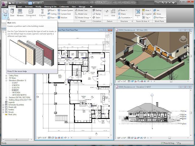 Architecture Autocad9