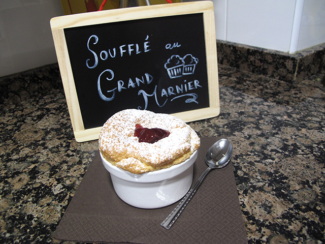 Soufflé au Grand Marnier from A Treasury of Great Recipes by Cine Gratia Cinema
