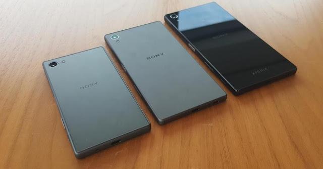 Inilah wujud Sony Xperia Z5, Xperia Z5 Compact dan Xperia Premium