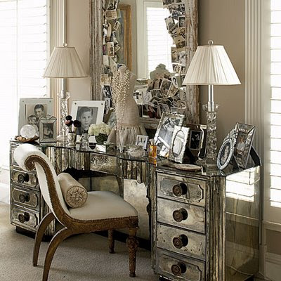 Vanities on Classic Chic Home  Daydreams And Dressing Tables