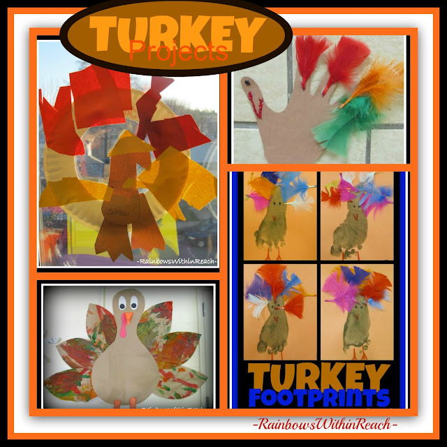 photo of: Turkey Projects from Preschool via RainbowsWithinReach