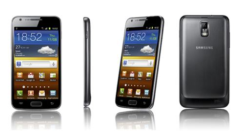 Samsung S Galaxy II LTE, Released Samsung