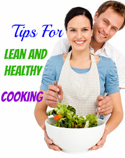 woman cooking healthy