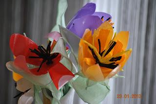 kwiaty recycling