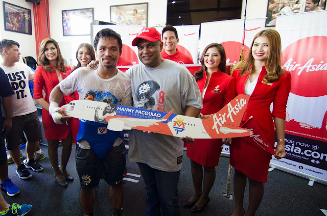 AirAsia named official airline partner of Filipino Boxing Champ and Congressman Manny Pacquiao