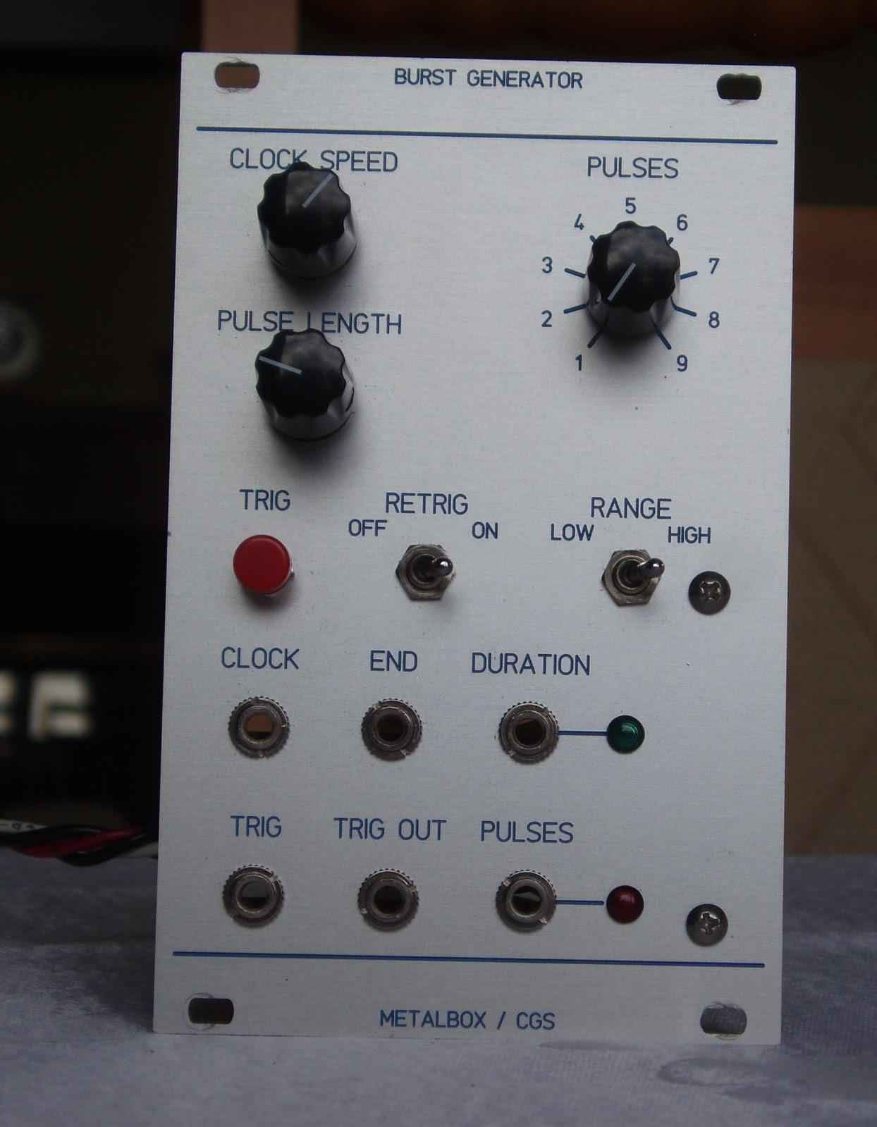 Metalbox / Cgs Burst Generator