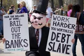 debt slave who thinks he is free
