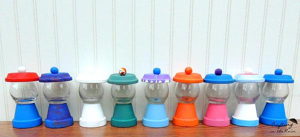 flower pot gumball machines