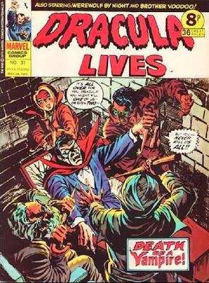 Marvel UK, Dracula Lives #31