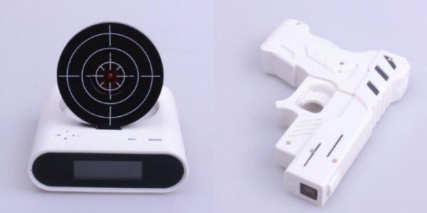 15 Jam Alarm Terunik di Dunia: Target Alarm Clock