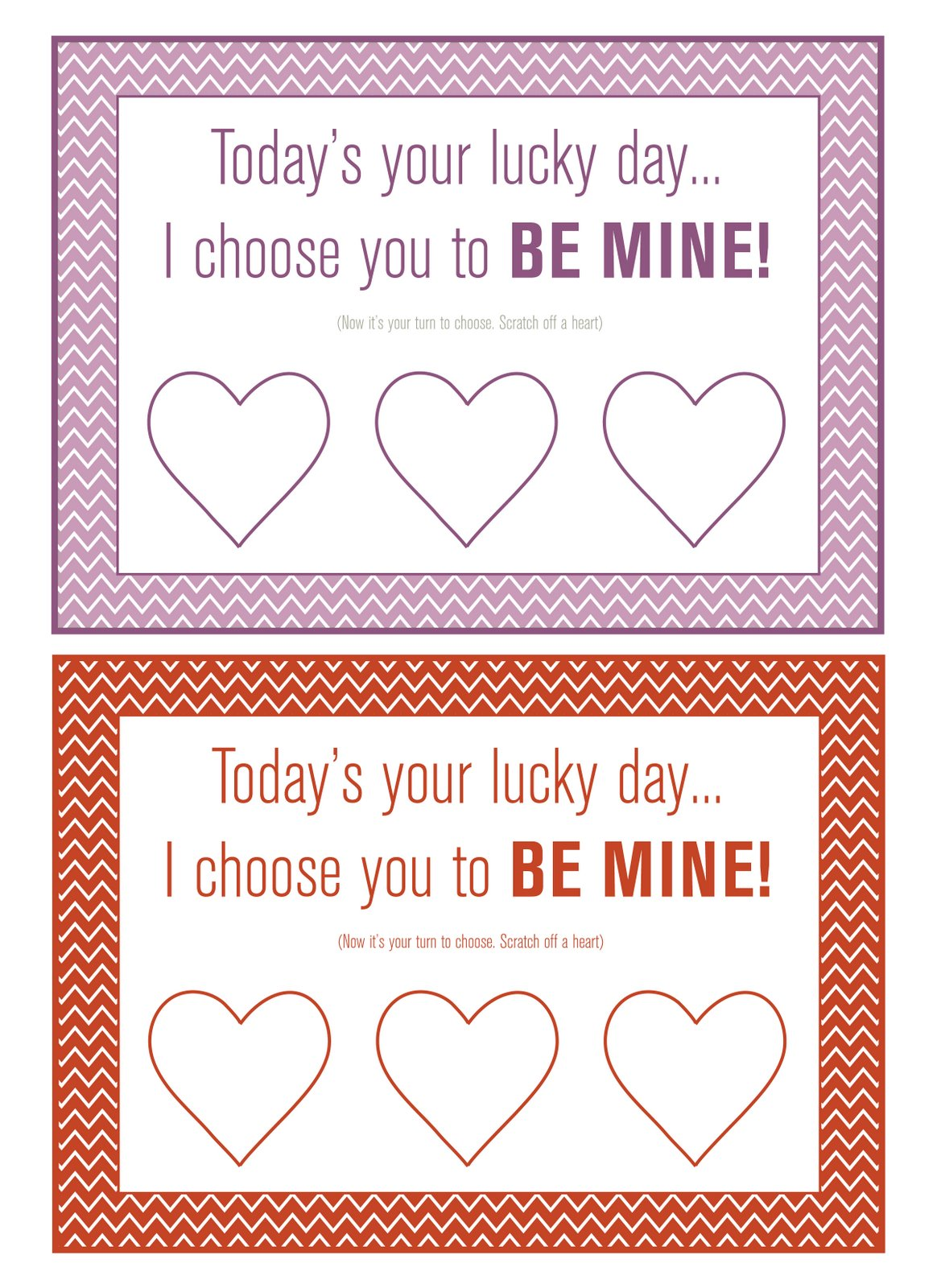 eatpraylove and be creative DIY ScratchOff in this case – Scratch off Valentine Card