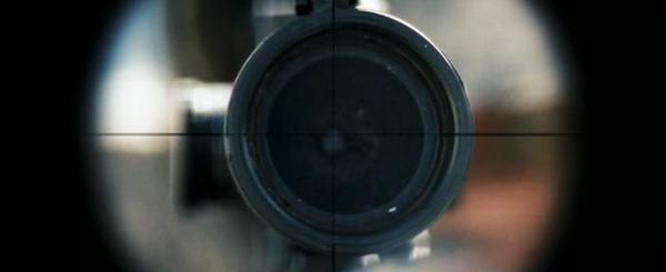 Стрелок. Снайпер работает по дальней цели