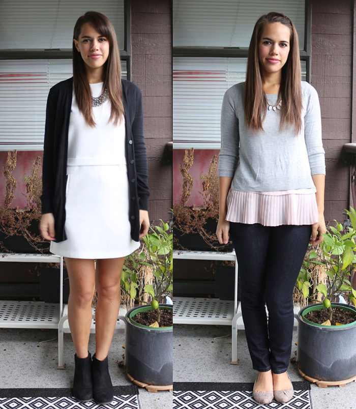 jules in flats: personal style blog - business casual workwear on a budget October 2015 Outfits Week 3