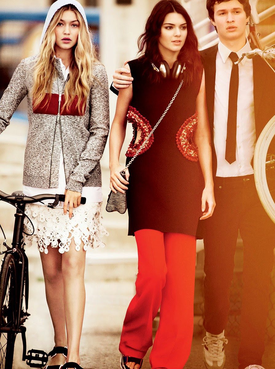 Kendall Jenner and Gigi Hadid for Vogue April 2015