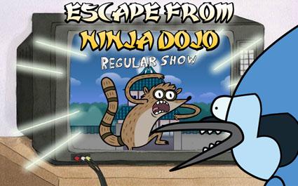 Regular Show: Escape from Ninja Dojo