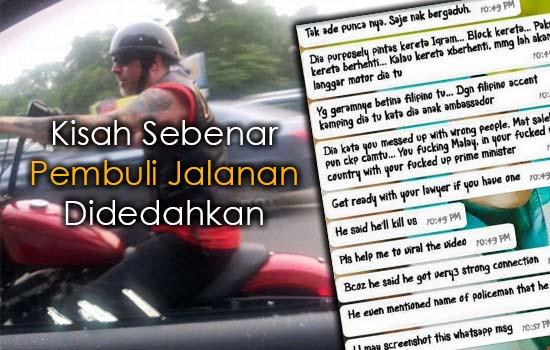 Kisah Sebenar Bikers Pembuli Jalanan Didedahkan