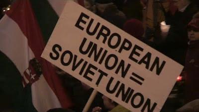 Para húngaros UE está igual que a URSS