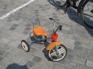 Выставка ретро автомобилей, Донецк, день города, ретро авто, велосипед
