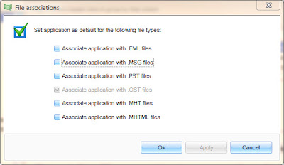 Search .eml email files with PST Viewer Lite.