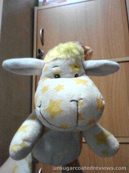 cute yellow stuffed toy