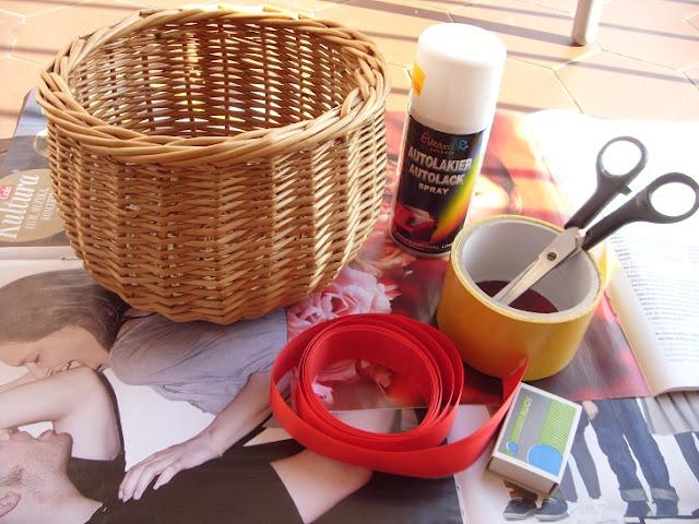 DIY- koszyczek z wstążeczką