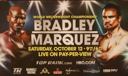 Juan Manuel Marquez vs Timothy Bradley Live on Oct. 12