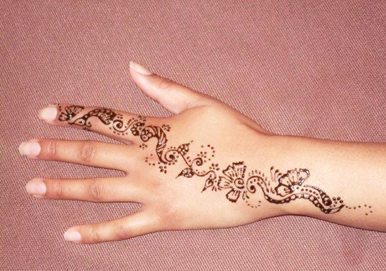 Only Women Secrets 15 Super Cool Back Hands Mehndi Designs