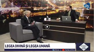 A7 TV: Legea divină și legea umană 🔴 Invitat: Peter Costea