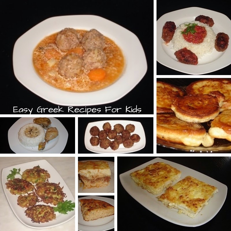 Easy Greek Recipes for Kids