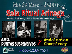 Andalusian Conspiracy en Sala Ritual (Arinaga)