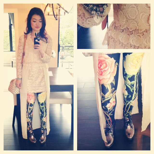 romwe leggings, Thrift style, eco style, stylish outfit, vancouver