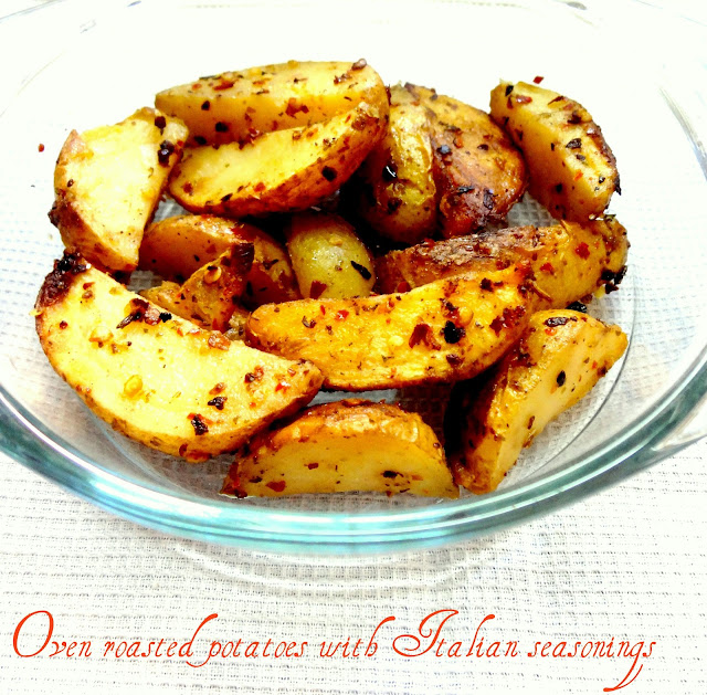 how to cook oven roasted potatoes