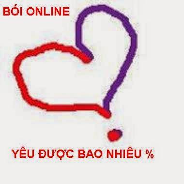 Boi Tinh Yeu Theo Phan Tram