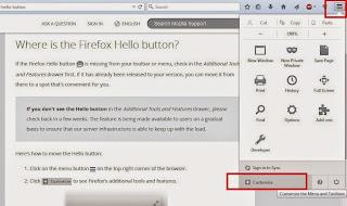 cara mengaktifkan fitur firefox hello
