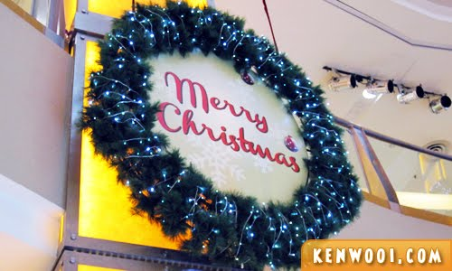 merry christmas deco