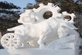 The Ice and Snow Festival in China