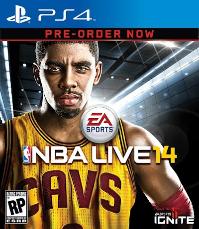 Kyrie Irving : Cover Athlete for NBA LIVE 14