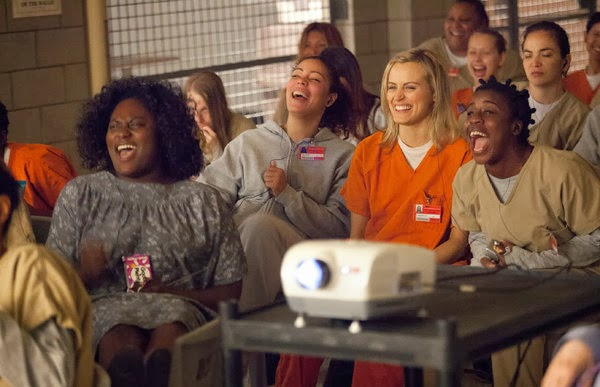 Orange is the New Black, produced by Netflix