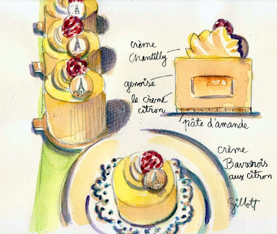 Japanese pastry by Carol Gillott