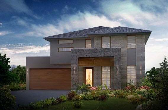 Dise o y planos de casas de dos pisos con ideas para for Casa minimalista 6 x 12