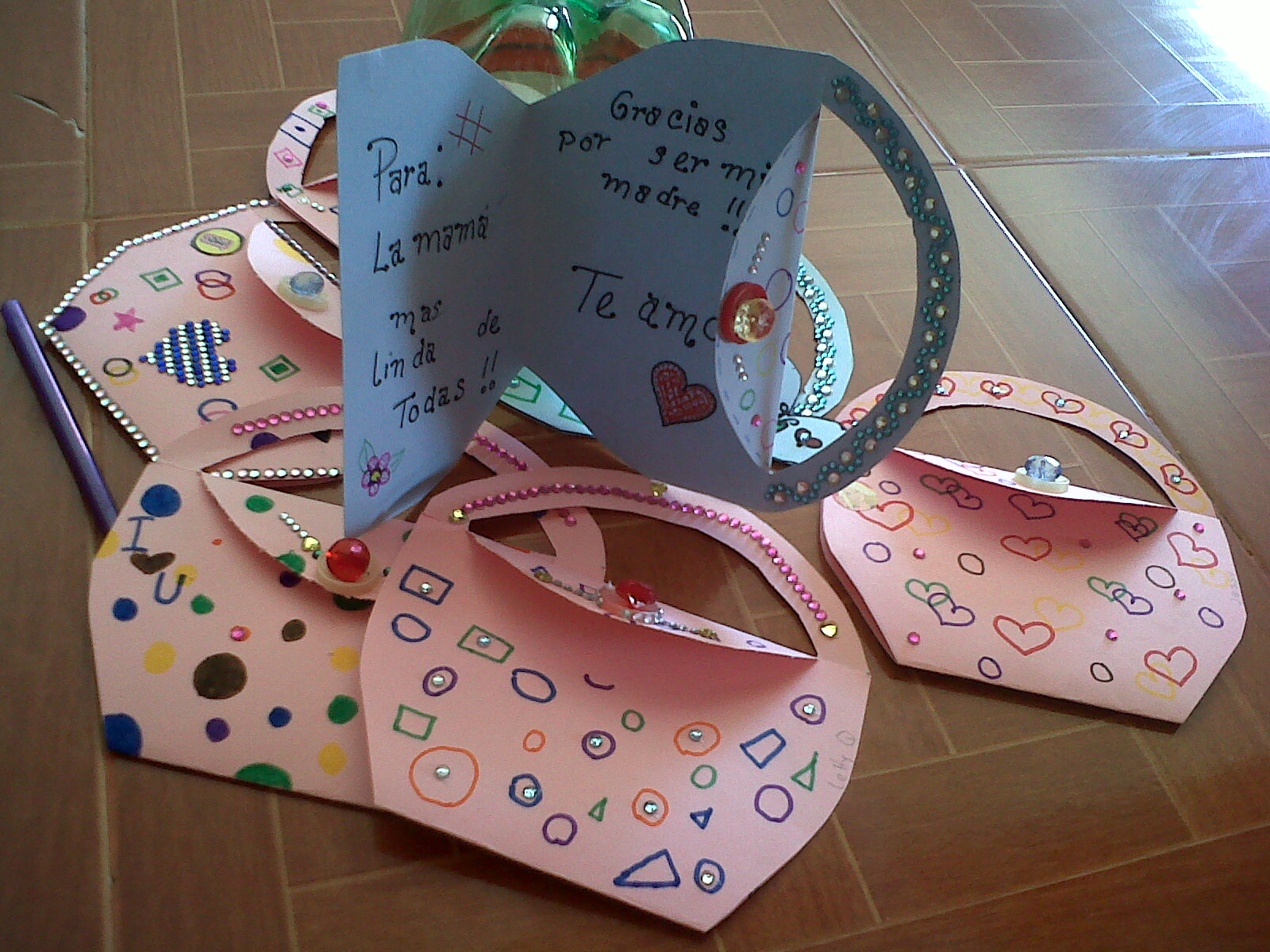 Por Amor A Cristo Manualidades Y Mas Targetas Para Mama