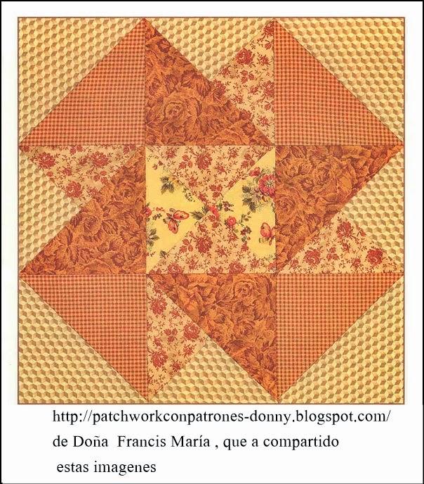 Patchwork solo patrones todo gratis patchwork quilt - Patrones de casas de patchwork gratis ...