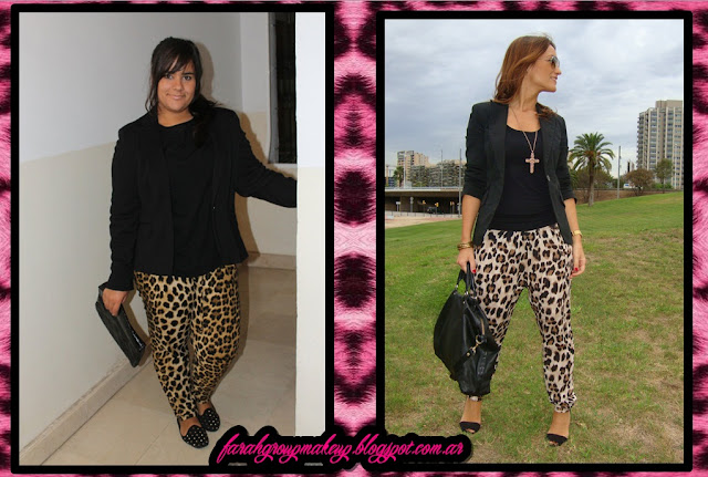 Animal Print pants bottoms