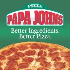 Papa Johns' Free large pizza