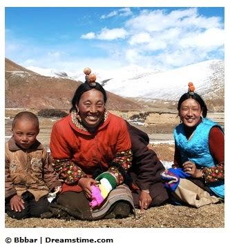 Les Tibétains auraient hérité d'un gène d'une espèce humaine disparue dans monde tib%C3%A9tains