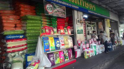 Talad Thai Market Thailand Januari 2016