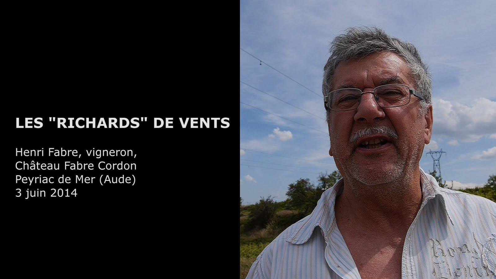 Henri Fabre, vigneron