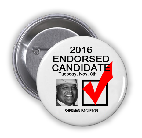 RACE FOR HARRIS COUNTY CONSTABLE PRECINCT 3 -- Sherman Eagleton